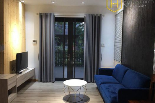 Apartment for rent in HCMC - 3 bedrooms-Villa with modern style and brand new interior in District 9 8 - honeycomb.com.vn