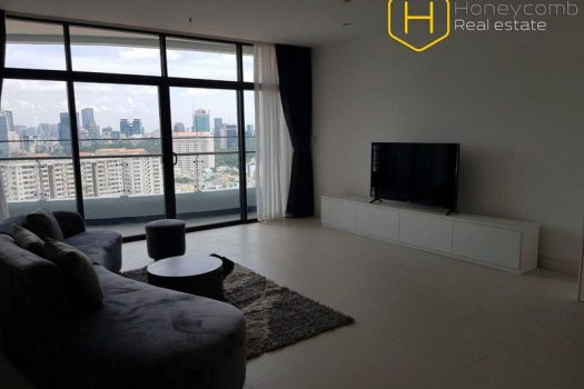 Apartment for rent in HCMC - Excellent! Modern with 3 bedroom apartment in City Garden 12 - honeycomb.com.vn