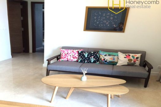 Apartment for rent in HCMC - The Nassim Thao Dien 2 bedroom apartment with low floor 12 - honeycomb.com.vn