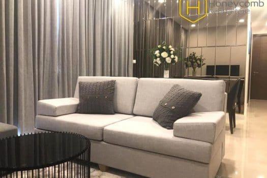 Apartment for rent in HCMC - Luxury design 3 bedroom apartment in The Nassim Thao Dien 15 - honeycomb.com.vn