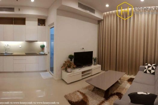 The 2 bedrooms-apartment is so impressive in Sala Sarimi 9 - Apartment for rent in HCMC - honeycomb.com.vn