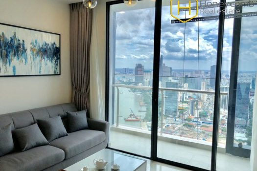 Apartment for rent in HCMC - Look at this spacious 2 bedrooms-apartment in Vinhomes Golden River 10 - honeycomb.com.vn