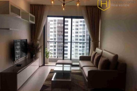 Apartment for rent in HCMC - Special style with 2 bedrooms apartment in New City Thu Thiem 14 - honeycomb.com.vn