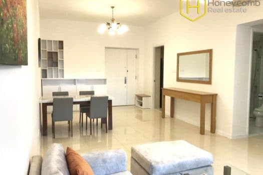 Apartment for rent in HCMC - Wonderful 2 bedrooms apartment with nice view in Sai Gon Pearl 4 - honeycomb.com.vn