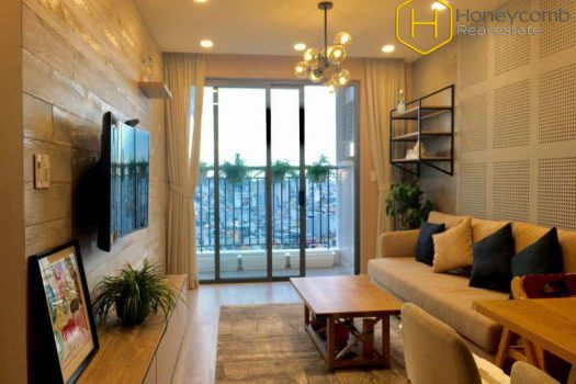 Apartment for rent in HCMC - Wilton Tower river 3 bedrooms apartment with elegant furniture 13 - honeycomb.com.vn