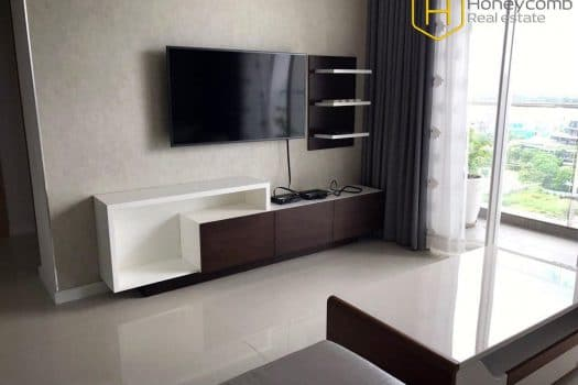 The 3 bedrooms-apartment is fresh and cozy in Sala Sarimi 7 - Apartment for rent in HCMC - honeycomb.com.vn