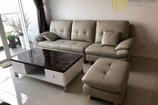The 2 bedrooms-apartment is simple but convenient in Sala Sarimi 11 - Apartment for rent in HCMC - honeycomb.com.vn