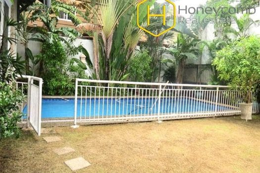Villa Thao Dien 4 bedroom apartment with swimming pool 1 - Apartment for rent in HCMC - honeycomb.com.vn