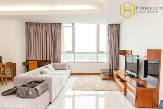 Apartment for rent in HCMC - Luxury 3 beds apartment for rent in Xi Riverview 10 - honeycomb.com.vn