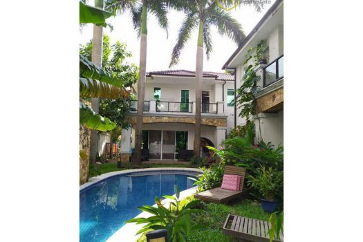Apartment for rent in HCMC - The 4 bedrooms-villa with perfect pool at Thao Dien 2 - honeycomb.com.vn