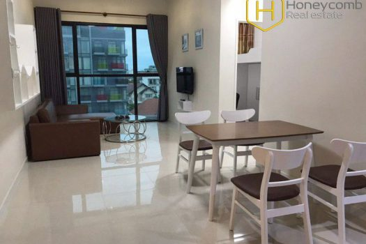 The peaceful and cozy 2 bedroom-apartment from The Ascent 4 - Apartment for rent in HCMC - honeycomb.com.vn