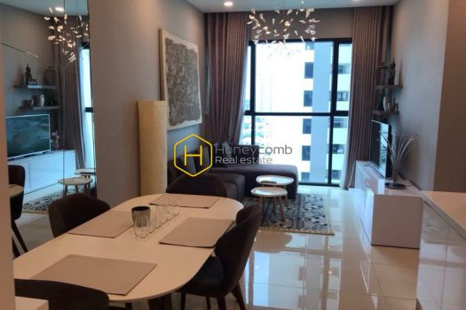 AS57 1 result Luxury design 2-beds apartment in The Ascent Thao Dien for rent
