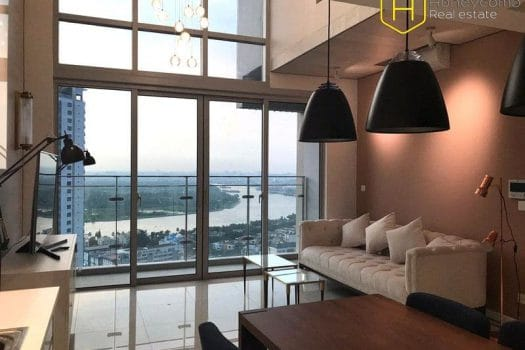 Apartment for rent in HCMC - Duplex The Estella Heights 3 bedrooms apartment for rent 7 - honeycomb.com.vn