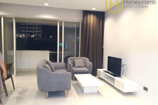 The 3 bed-apartment with close to nature in design at Estella 6 - Apartment for rent in HCMC - honeycomb.com.vn