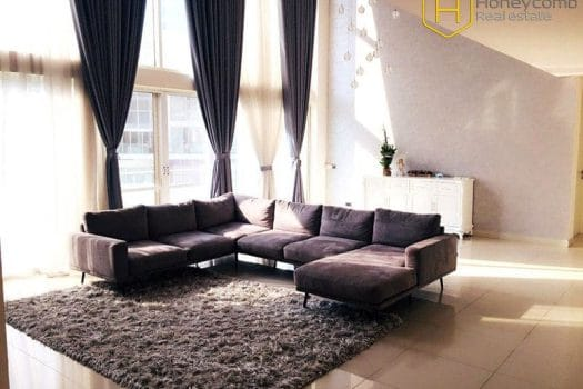Duplex 4 bed-apartment  with luxury design will become a perfect choice for you at Masteri Thao Dien 9 - Apartment for rent in HCMC - honeycomb.com.vn