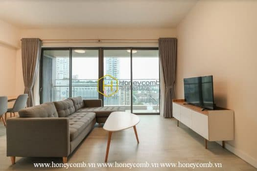 GW77 2 result Open space contemporary-style 2 bedrooms apartment in The Gateway Thao Dien