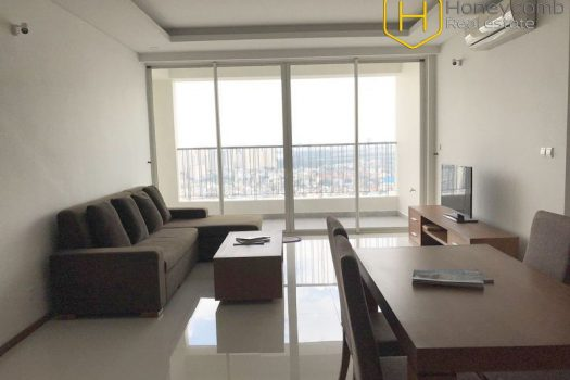 The 2 bedroom-apartment with smart design and spacious area from Thao Dien Pearl 4 - Apartment for rent in HCMC - honeycomb.com.vn