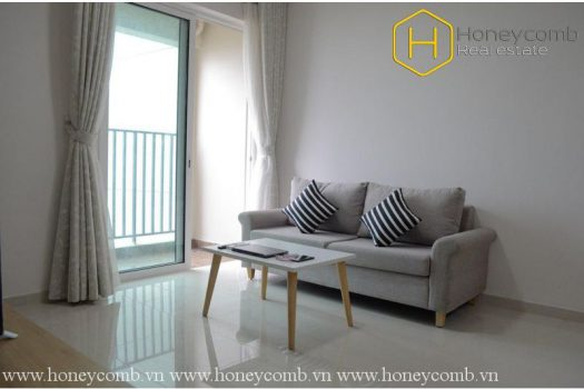 Apartment for rent in HCMC - The 2 bedrooms-apartment with minimalism style for lease in Vista Verde 7 - honeycomb.com.vn