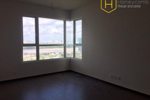 The unfurnishe 4 bedrooms is very enlarged at Vista Verde 12 - Apartment for rent in HCMC - honeycomb.com.vn