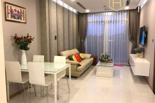 Apartment for rent in HCMC - Fully furnished space in Vinhomes Central Park for rent 3 - honeycomb.com.vn