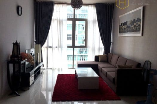 Apartment for rent in HCMC - Wonderful 2 bedrooms apartment with nice view in The Vista 2 - honeycomb.com.vn