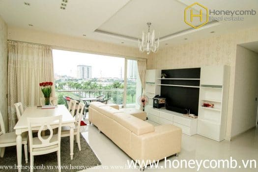 Apartment for rent in HCMC - Fantastic 2 beds apartment for rent in The Estella 10 - honeycomb.com.vn