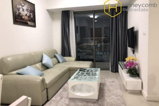 Elegant and fully functional 1 bedrooms apartment in Gateway Thao Dien 12 - Apartment for rent in HCMC - honeycomb.com.vn