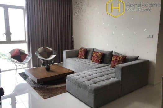 The 2 bedroom-apartment with traditional style from The Vista An Phu 9 - Apartment for rent in HCMC - honeycomb.com.vn