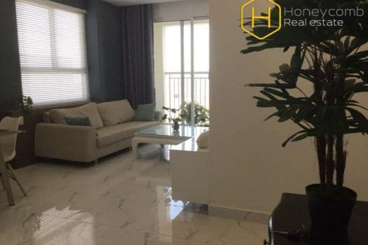 Apartment for rent in HCMC - Beautiful stylish 2 bedrooms apartment in Tropic Garden 3 - honeycomb.com.vn