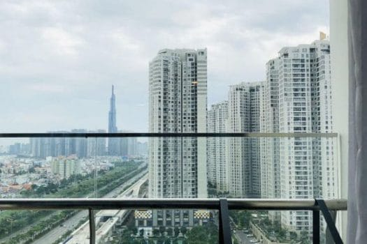 Apartment for rent in HCMC - Ingenious and elegant 1 bedrooms apartment in Gateway Thao Dien 5 - honeycomb.com.vn