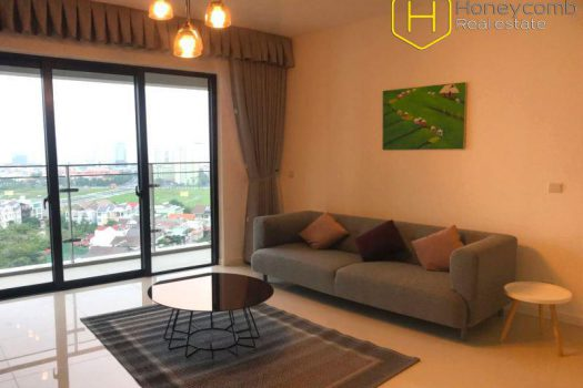 Apartment for rent in HCMC - Two beds apartment modern style in The Estella Heights for rent 4 - honeycomb.com.vn