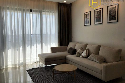 Apartment for rent in HCMC - Modern decorated with 2 bedroom apartment in Estella Heights 2 - honeycomb.com.vn