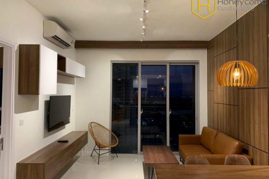 Apartment for rent in HCMC - Modern decorated with 1 bedroom apartment in Estella Heights 1 - honeycomb.com.vn