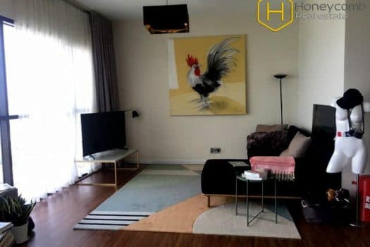 Apartment for rent in HCMC - Delicated and Modern with 2 bedrooms apartment in The Ascent Thao Dien 13 - honeycomb.com.vn