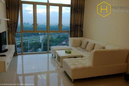 Apartment for rent in HCMC - Fully furnished 2 bedrooms apartment in The Vista for rent 8 - honeycomb.com.vn
