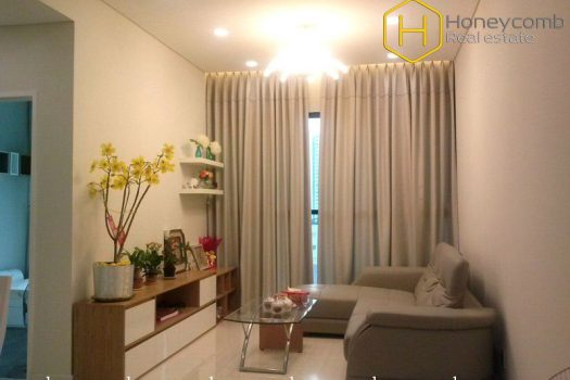 Lovely featured 2 bedrooms apartment for lease at The Ascent 19 - Apartment for rent in HCMC - honeycomb.com.vn