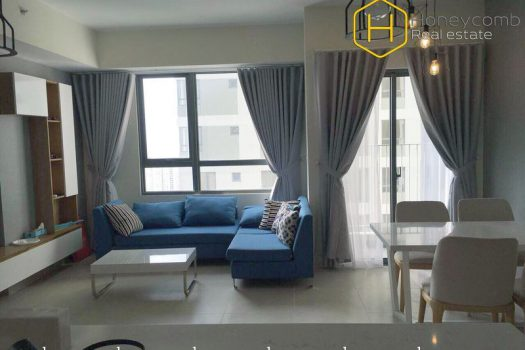 Beautiful and completely 2 beds apartment for rent in Masteri Thao Dien 16 - Apartment for rent in HCMC - honeycomb.com.vn