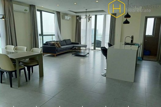 Duplex 4 bed-apartment  with luxury design will become a perfect choice for you at Masteri Thao Dien 3 - Apartment for rent in HCMC - honeycomb.com.vn