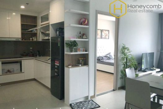 The 2 bedroom-apartment with fresh space and smart price at New City 2 - Apartment for rent in HCMC - honeycomb.com.vn
