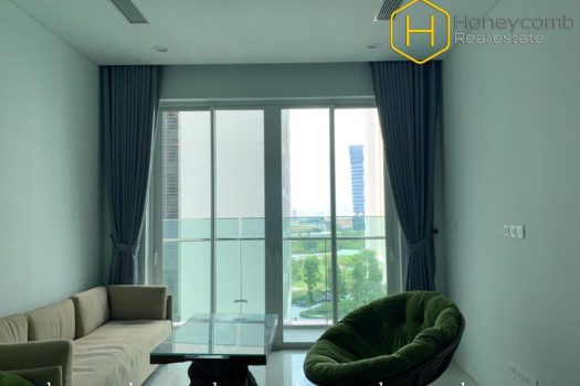 The warmth and elegance are what this 2 bed-apartment will give you at Sala Sadora 10 - Apartment for rent in HCMC - honeycomb.com.vn