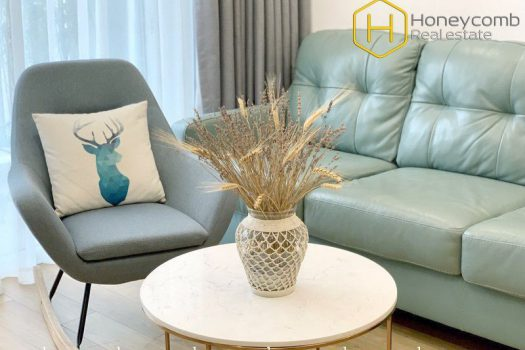 The outstanding 2 bedroom-apartment with strong attraction at Vista Verde 4 - Apartment for rent in HCMC - honeycomb.com.vn