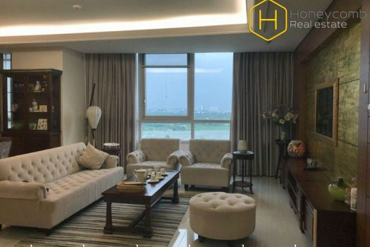 Sophisticated Style with 3 bedrooms apartment in Xi Riverview Palace for rent 2 - Apartment for rent in HCMC - honeycomb.com.vn
