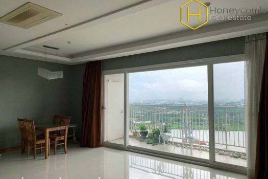 The 3 bedroom-apartment without furniture and extraordinary view from Xi Riverview Palace 6 - Apartment for rent in HCMC - honeycomb.com.vn