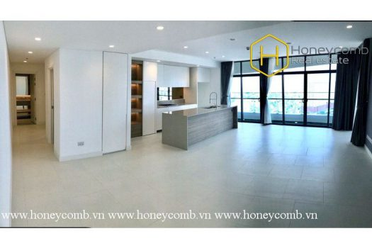 So magnificent is the 3 bed-apartment that you won't take your eyes off it at City Garden 5 - Apartment for rent in HCMC - honeycomb.com.vn
