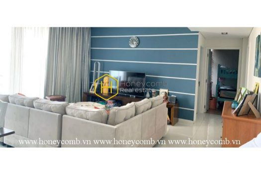 The opulent and marvelous 3 bed-apartment from The Estella 1 - Apartment for rent in HCMC - honeycomb.com.vn
