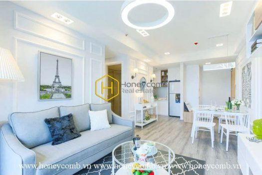 Wonderful 2 bed-apartment with high-class furniture and fashionable design at Masteri Thao Dien 2 - Apartment for rent in HCMC - honeycomb.com.vn