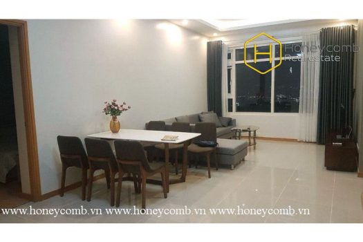 Simple but elegant and convenient . That's all about this 3 bed-apartment at Saigon Pearl 2 - Apartment for rent in HCMC - honeycomb.com.vn