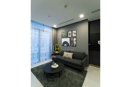 The ingenious and appealing 2 bed-apartment for lease at Vinhomes Central Park 2 - Apartment for rent in HCMC - honeycomb.com.vn