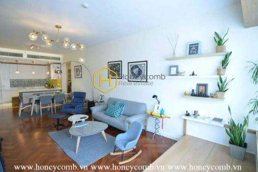SP65 www.honeycomb.vn 4 result This gorgeous apartment in Saigon Pearl provides a spacious &amp cozy living space