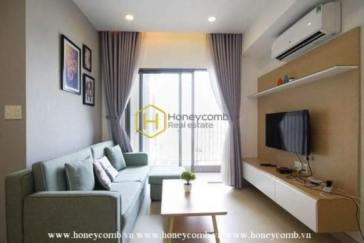 MTD1067 www.honeycomb.vn 1 result Good price! 2 bedrooms apartment with new furnished in Masteri Thao Dien